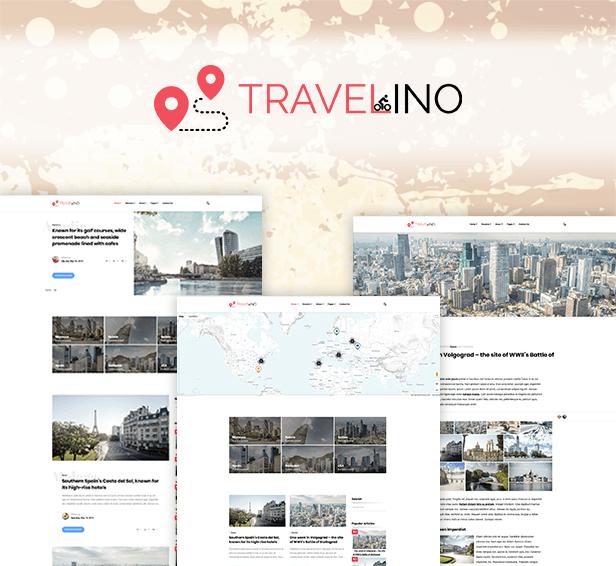 Travelino - WordPress Travel Theme - 1