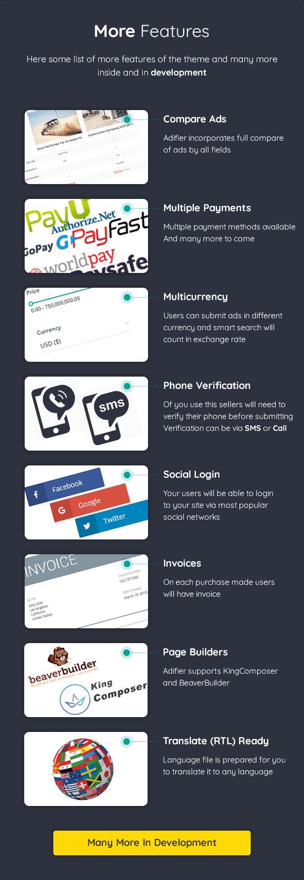 Adifier - Classified Ads WordPress Theme - 20